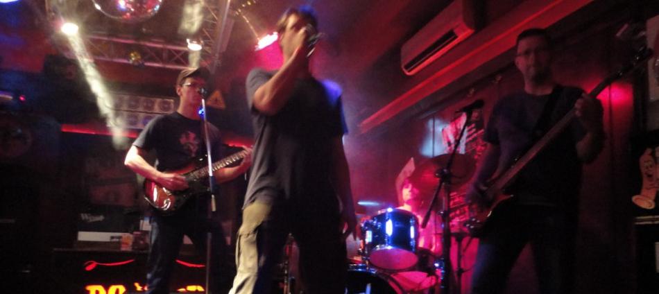Auftritt im Rocker Hannover