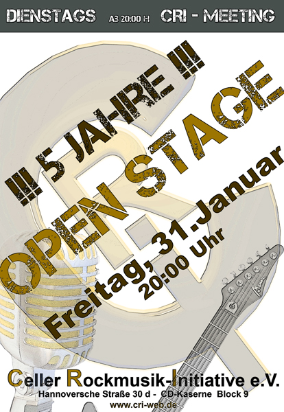 Open Stage im Cri mit Werner Strong