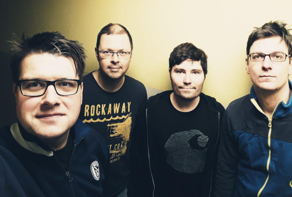 Werner Strong vlnr.: Jonas (voc), Michael (bass), Simon (drums), Henning (git.)